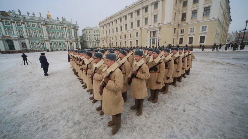 В центре Петербурга ограничат движение из-за репетиций парада к 75-летию снятия блокады