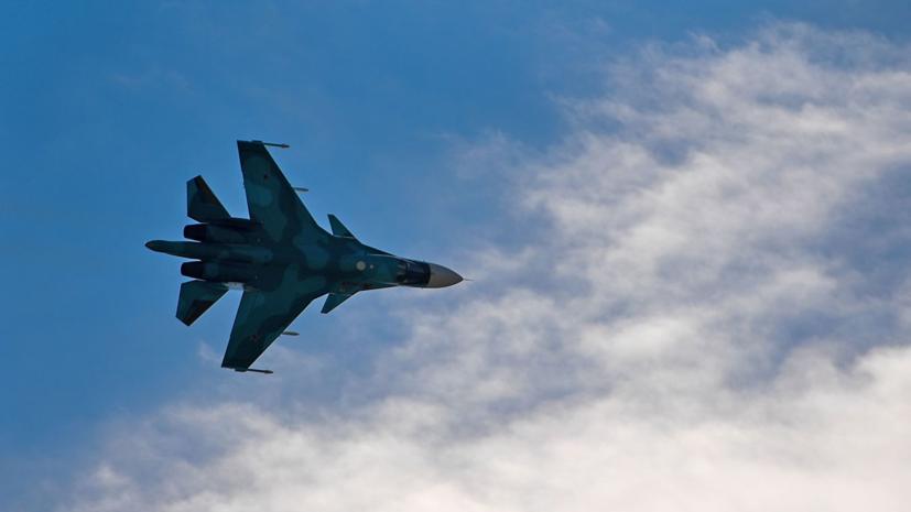 Обнаружен один из лётчиков потерпевшего аварию Су-34