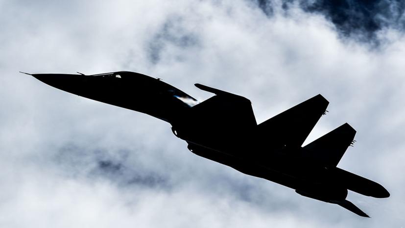 Поиск лётчиков Су-34 ведётся в условиях шквалистого ветра и шторма