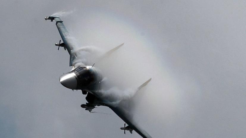 Обнаружен второй пилот потерпевшего аварию Су-34