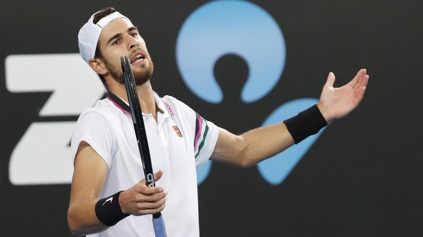 Хачанов проиграл Баутисте-Агуту в третьем круге Australian Open