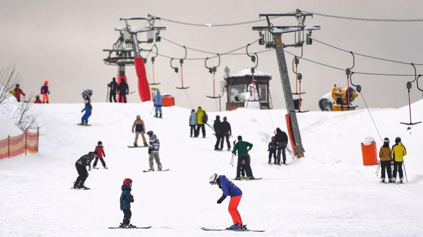 Курорты Подмосковья заняли второе место в рейтинге зимних баз отдыха России