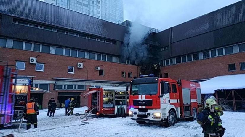 Пожар в типографии Петербурга мог начаться из-за взрыва снаряда времён войны
