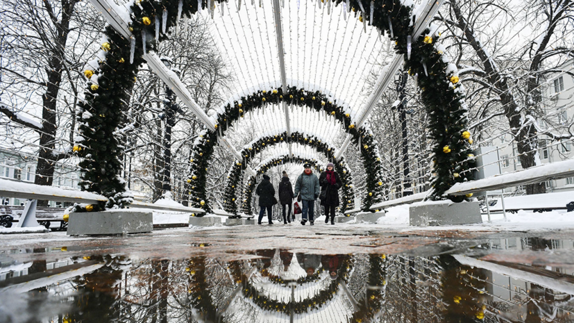 Климатолог рассказал, что зимы в Москве за 100 лет стали теплее на 4 °С