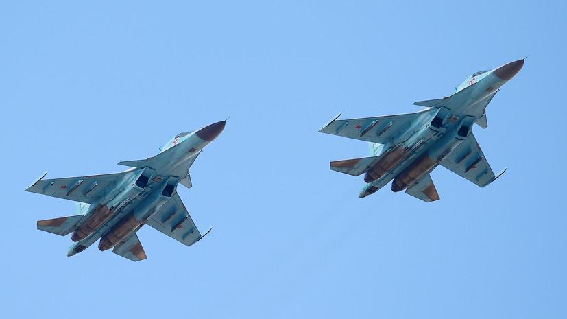 «При отработке маневрирования»: что известно об аварии Су-34 на Дальнем Востоке
