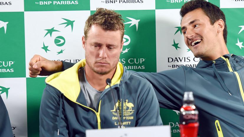 «Он лжец и никому не нравится»: почему теннисист Томич конфликтует с бывшей первой ракеткой мира Хьюиттом