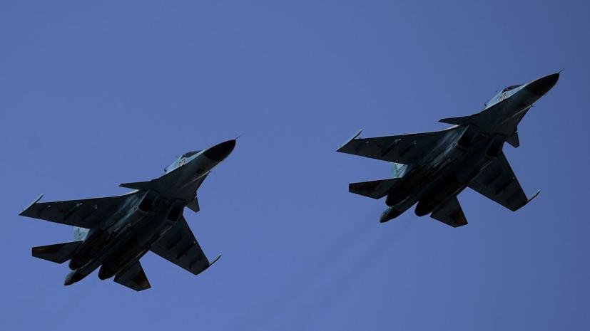 Минобороны опровергло данные об обнаружении второго лётчика Су-34