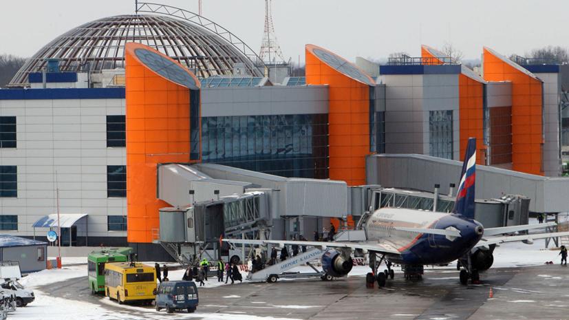 Пассажиропоток аэропорта Храброво вырос на 20% в 2018 году