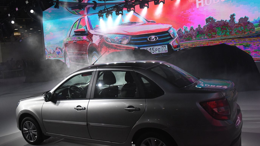 Назван самый продаваемый автомобиль в России в декабре 2018 года