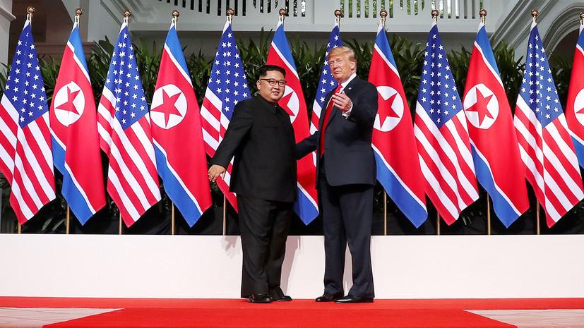 Белый дом: Трамп встретится с Ким Чен Ыном в конце февраля