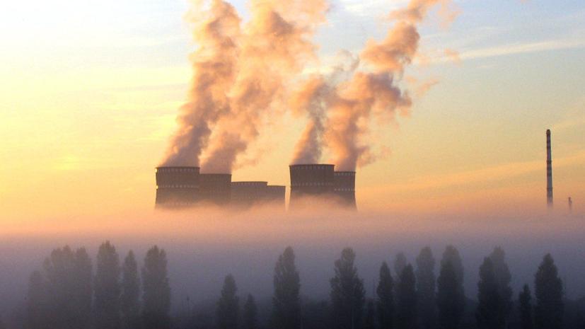 На Украине энергоблок Ровенской АЭС был отключён от сети из-за системы защиты
