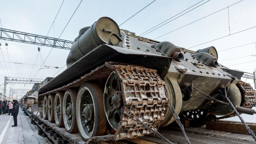 Танки Т-34 из Лаоса прибыли в Муром