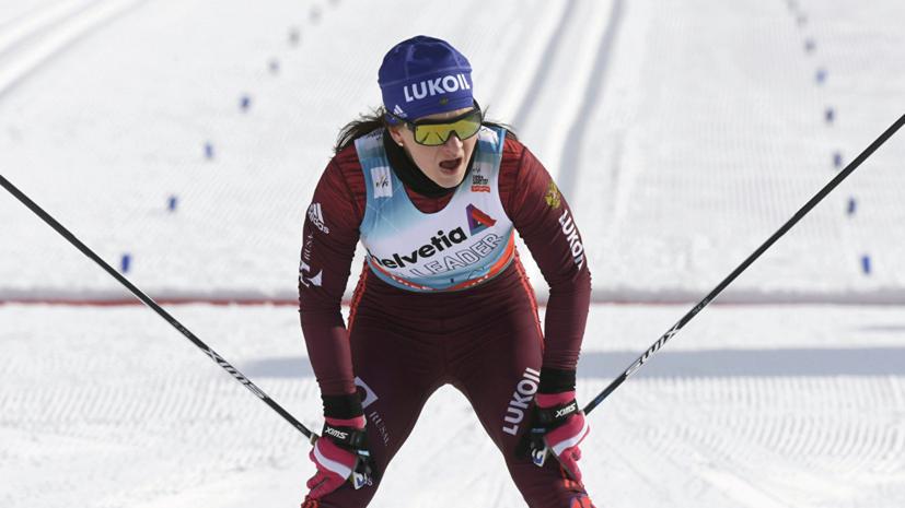 Непряева завоевала серебро в спринте на этапе КМ по лыжным гонкам в Эстонии