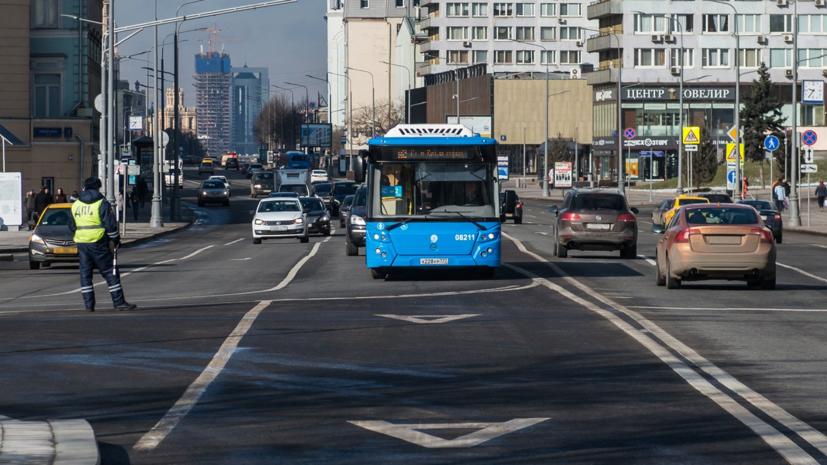 В Москве планируют обустроить 32 километра выделенных полос в 2019 году