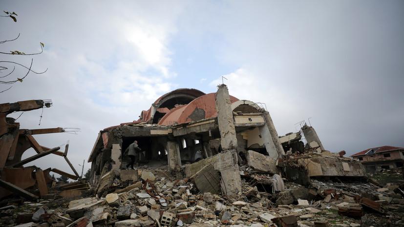 МИД Сирии вновь обратился в ООН из-за авиаударов западной коалиции
