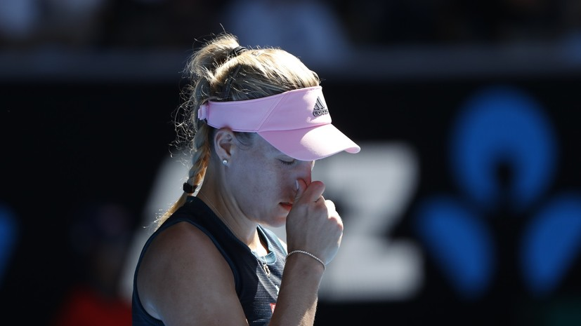 Кербер проиграла Коллинз в матче четвёртого круга Australian Open