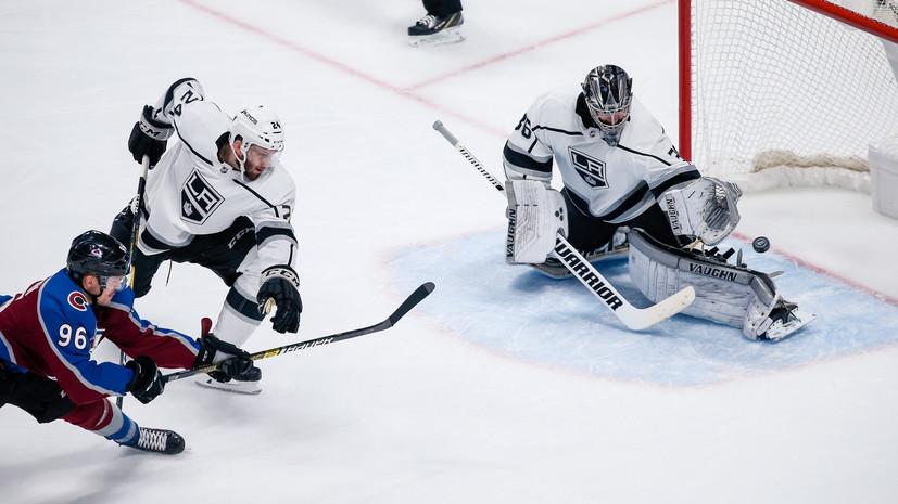 «Лос-Анджелес» разгромно проиграл «Колорадо» в матче НХЛ, несмотря на шайбу Ковальчука