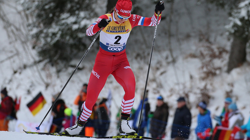 Непряева завоевала бронзу в гонке на 10 км на этапе КМ по лыжным гонкам в Эстонии