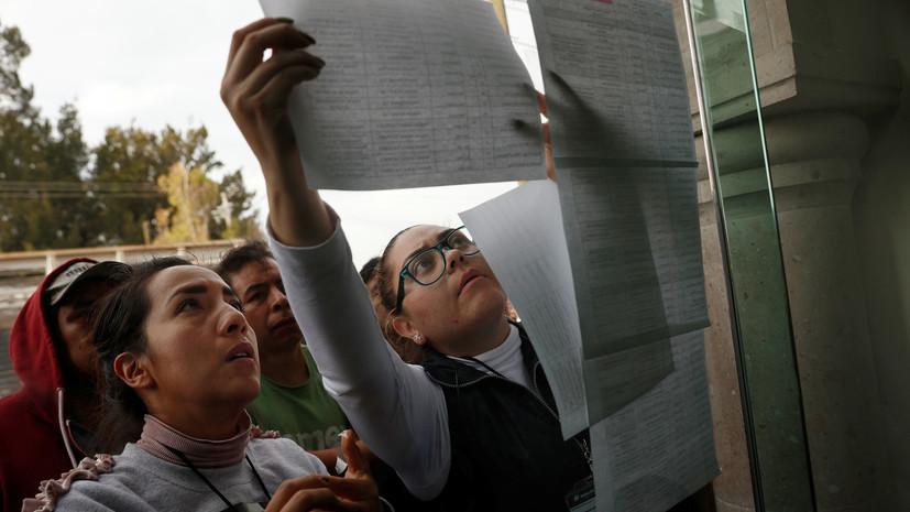 Число погибших в результате взрыва на трубопроводе в Мексике достигло 79