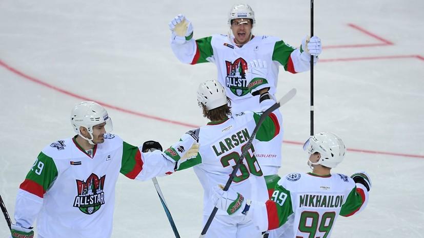 Два очка Михайлова помогли дивизиону Чернышёва выйти в финал Матча звёзд КХЛ