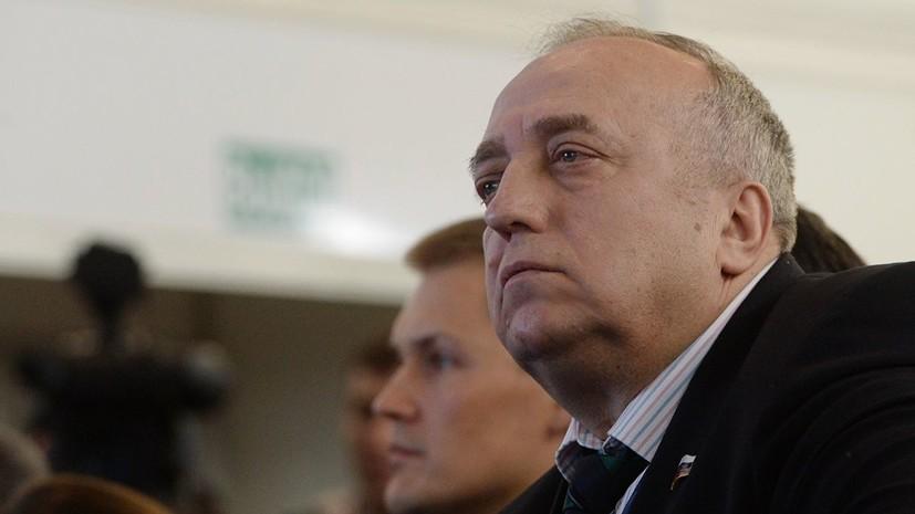 Клинцевич назвал провокатором журналиста из Эстонии после призыва к сдерживанию России
