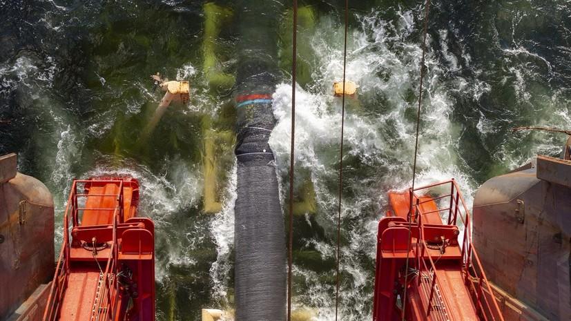 В ФРГ заявили, что не будут вмешиваться в проект «Северный поток — 2»