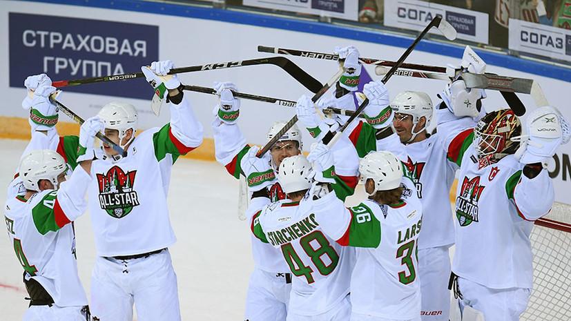 Буллит Билялетдинова, 14 шайб в матче за третье место и победа дивизиона Чернышёва: в Казани прошёл Матч звёзд КХЛ