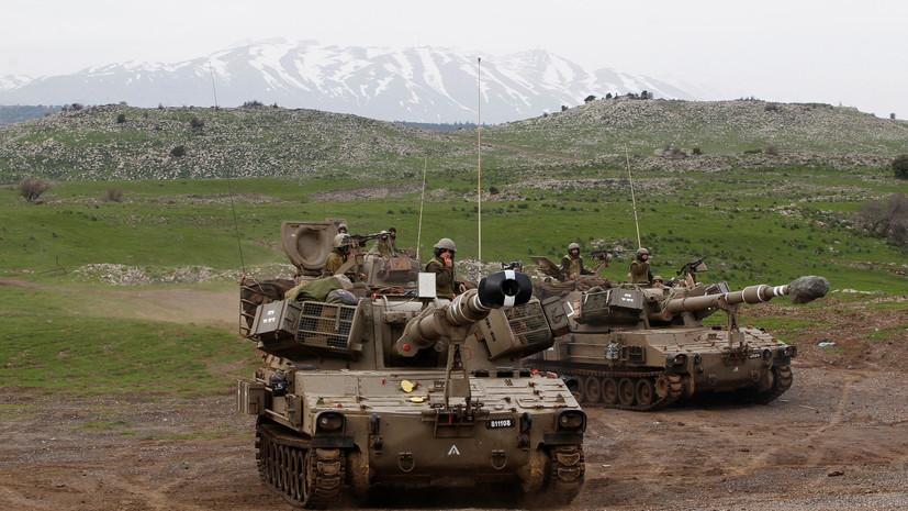 Армия Израиля назвала причину ударов по Сирии