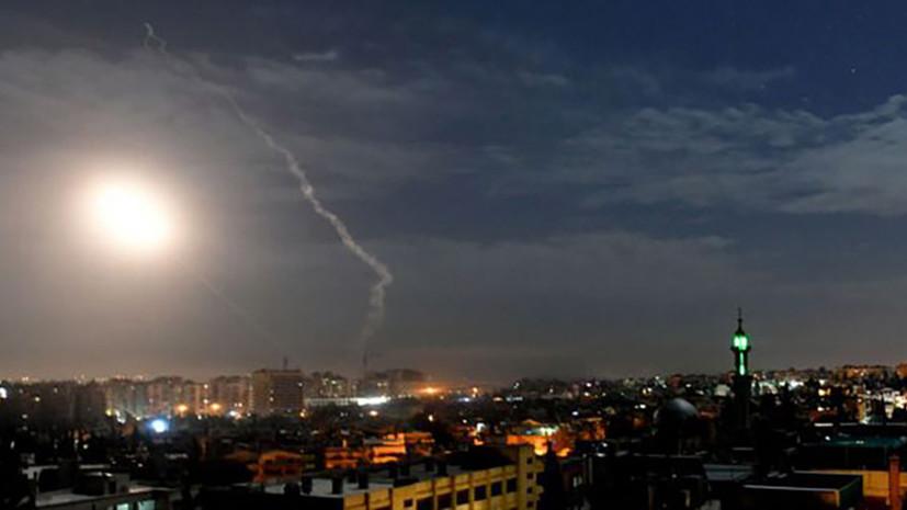 «Дальнейшая эскалация насилия»: четверо сирийских военных погибли в результате удара Израиля по САР