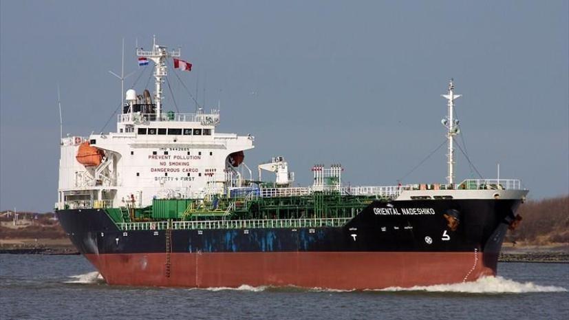 В Германии сел на мель танкер с опасным грузом
