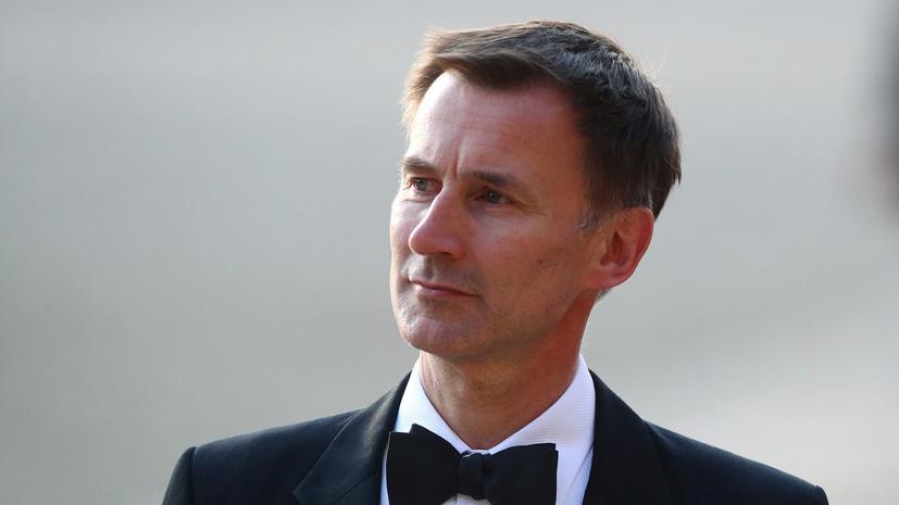 Глава МИД Британии прокомментировал санкции ЕС против офицеров ГРУ