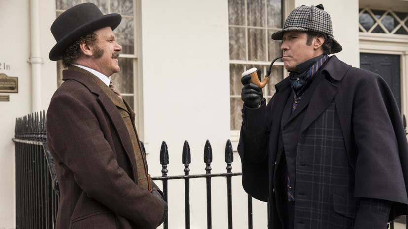 «Я пытался смеяться»:за что зрители невзлюбили новую комедию о Шерлоке Холмсе