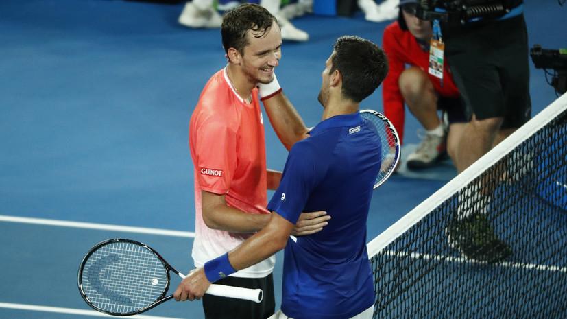 Неудача Медведева, провал Зверева и успехи Свитолиной: итоги восьмого игрового дня Australian Open