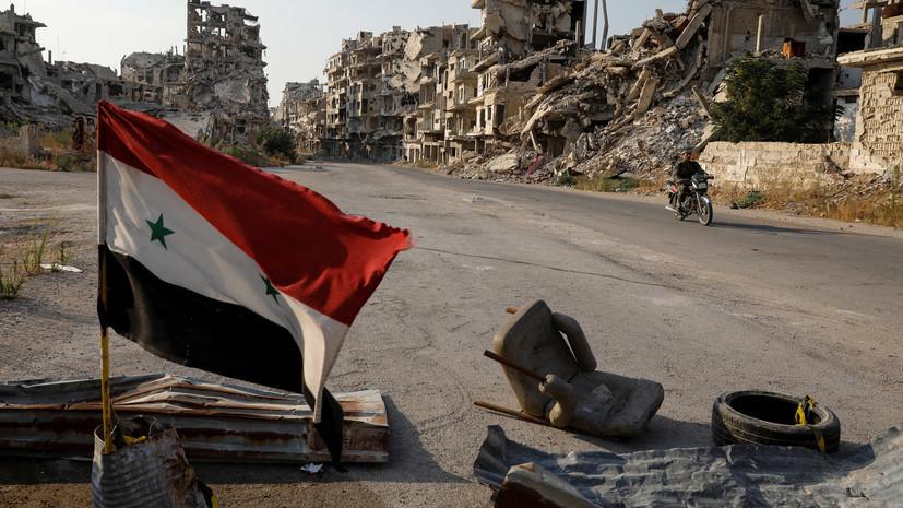 Сирия обратилась в ООН из-за авиаударов Израиля по Дамаску