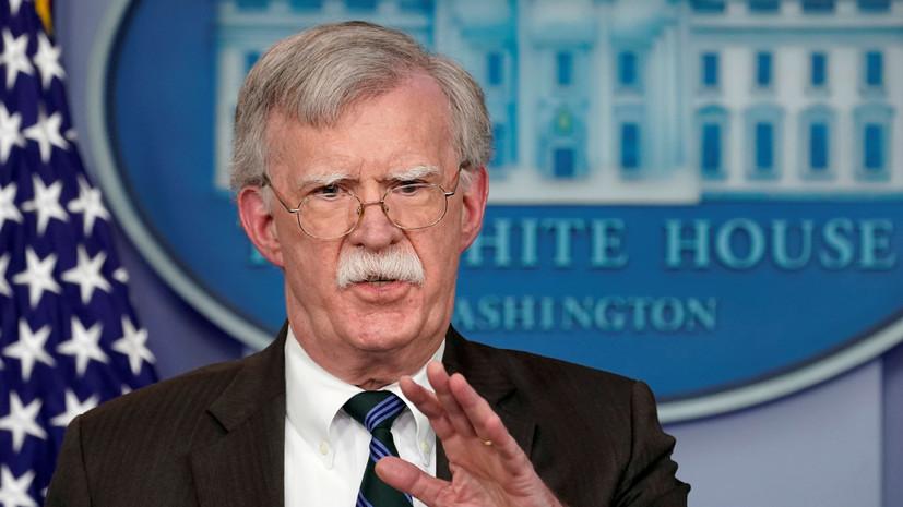 Болтон обвинил иранские авиалинии в перевозке вооружения