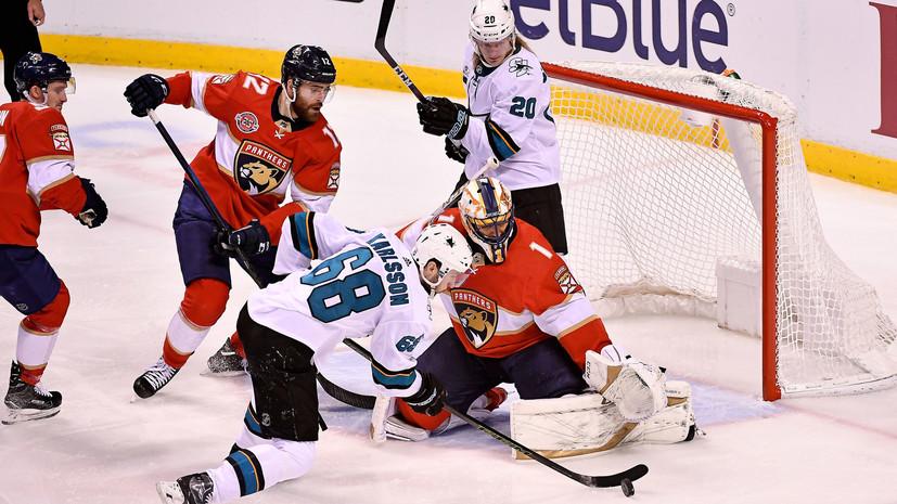 Два очка Дадонова помогли «Флориде» одержать третью победу подряд в НХЛ