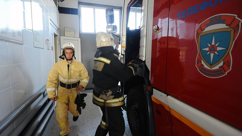 В здании Арбитражного суда Петербурга произошёл пожар