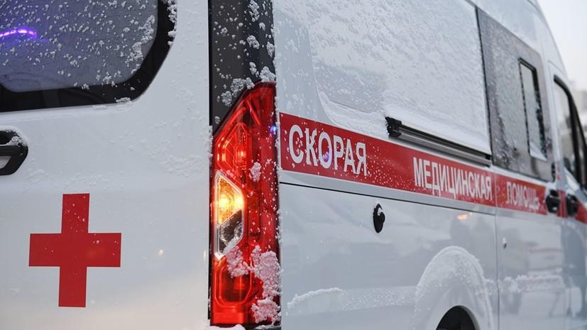 В результате столкновения маршруток в Новосибирске пострадали восемь человек