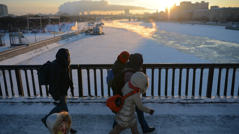 «Макушка зимы»: какая погода ожидает жителей Москвы на этой неделе