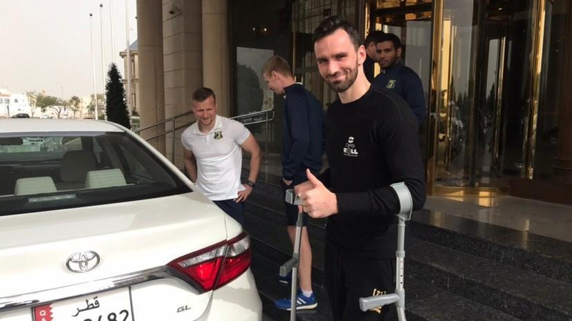 Защитник «Ростова» получил разрыв крестообразных связок в матче со «Спартаком»