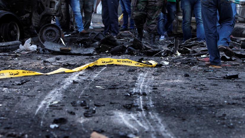 SANA: в Латакии при взрыве автомобиля пострадали четыре человека