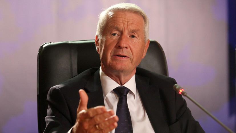 Генсек СЕ заявил о кризисе в организации из-за ситуации с Россией