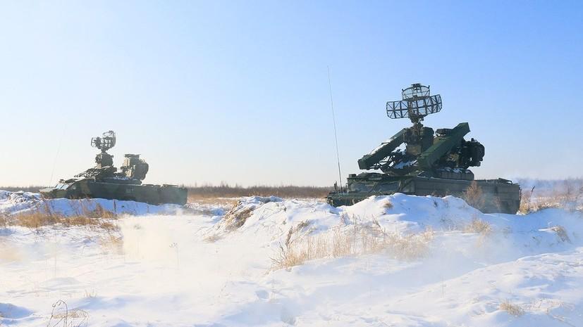 Расчёты ПВО Центрального военного округа подняты по тревоге в рамках проверки боеготовности