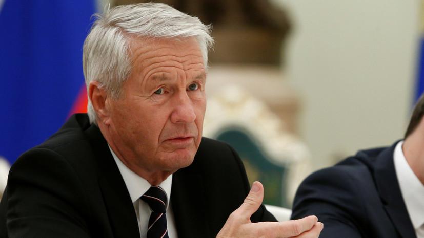 Эксперт оценил слова Ягланда о кризисе в СЕ