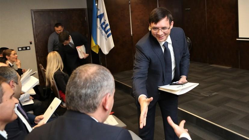 Кандидат в президенты Украины предложил соперникам сдать анализы на наркотики