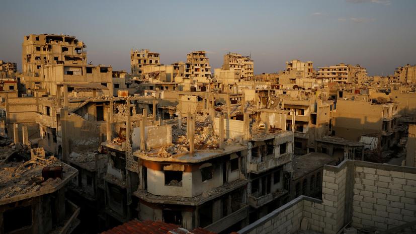 Россия зафиксировала девять нарушений режима прекращения военных действий в Сирии за сутки
