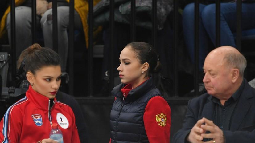 «Не думаю о людях, с которыми соревнуюсь»: о чём говорила Загитова после победы в короткой программе на ЧЕ в Минске