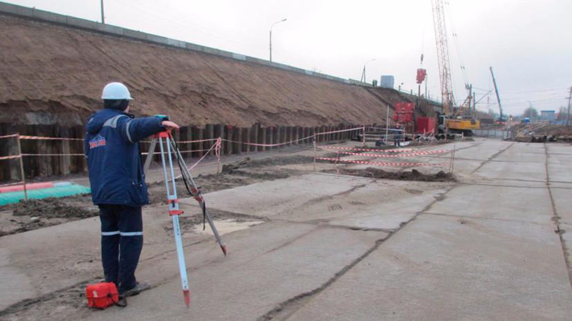 Реконструкцию Гореловского путепровода в Петербурге планируют завершить в августе 2019 года
