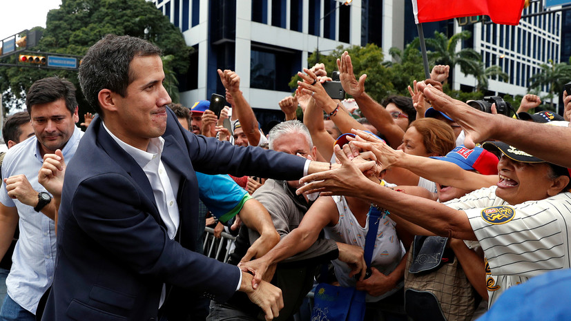 Перу, Бразилия и Колумбия признали Гуаидо врио президента Венесуэлы