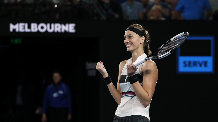 Чешская теннисистка Квитова вышла в финал Australian Open